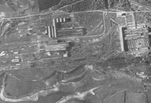 Luftbild Schneider-Stahlwerken in Le Creusot
