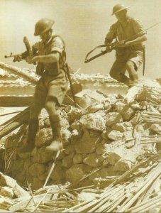 Britische Soldaten Sizilien 1943