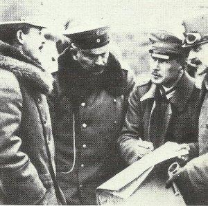 Kaiser Karl (links) und Wilhelm II