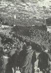 Gefangene-Sammelstelle für italienische Soldaten