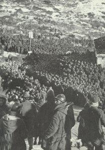 Gefangene-Sammelstelle für Italiener