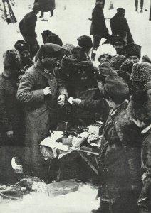 Tauschhandel Ostfront 1917