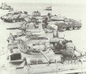 Wüsten-Werkstatt der britischen 8. Armee