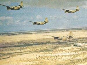 Formation von Boston III Angriffsbomber