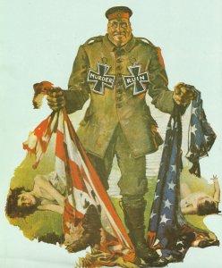 Propaganda bestialischer Deutscher