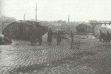 erbeutete britische Tanks Mark IV