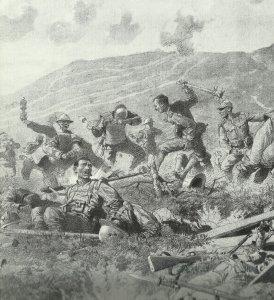 Nahkampf italienische Front