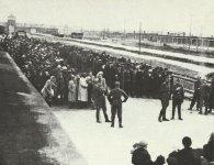 'Selektion' am KZ Auschwitz