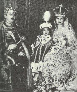 Kaiser Karl I. und Kaiserin Zita