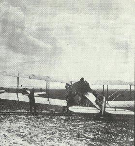 Bristol-Jäger vor Einsatz
