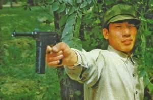 Typ 80 vollautomatische Pistole