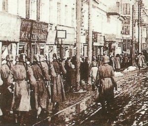 Einmarsch deutscher Truppen