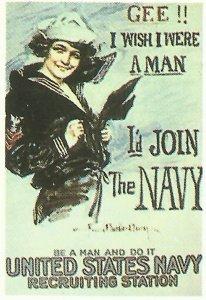 Wenn ich ein Mann wäre ... würde ich zur Navy gehen