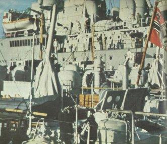 Schnellboot-Wohnschiff
