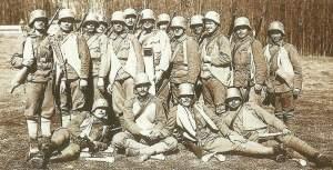 Soldaten der Sturmtruppen