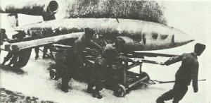 Transport einer V-1