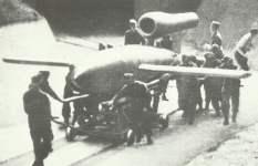 V-1 auf Startrampe