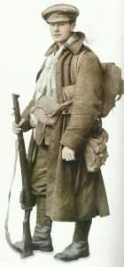 britischer Soldat an der Westfront