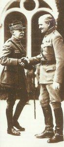 Foch und Pershing