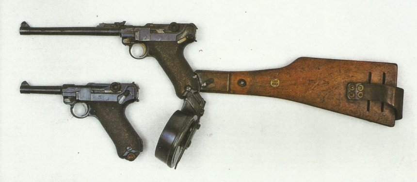 Luger-Pistolen