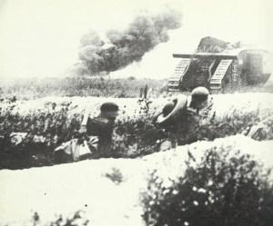 deutscher Beute-Panzer Tank Mk IV
