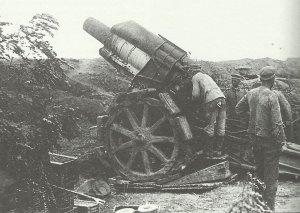 deutsche 21-cm-Haubitze