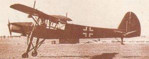 Fieseler Fi 156C-1 Storch-STOL-Flugzeuge