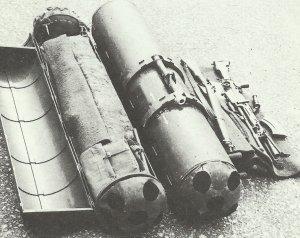Fallschirm-Containern von der britischen SOE