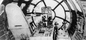 Cockpit einer Me 264