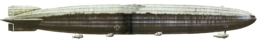 Seitenansicht Zeppelin L70