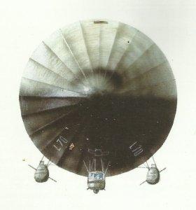 Frontansicht Zeppelin L70