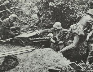 Deutsche Sanitäter im Einsatz
