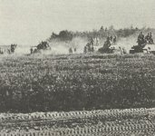 Sowjetische Panzer bei der Gegenoffensive Kursk