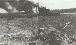 Schlacht von Kursk abgeschossene Stormowik