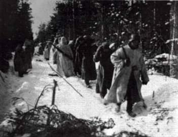 SS-Polizei-Division im Winter 1941/42