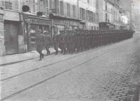 Polizei-Division in Paris