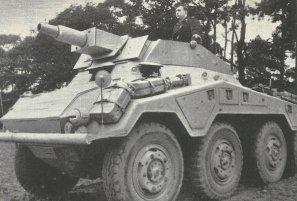Schwerer Panzerspähwagen (7,5cm) SdKfz 234/3