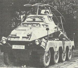 Funk-Panzerspähwagen SdKfz 232