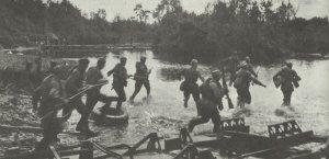 Sturmangriff sowjetischer Infanterie