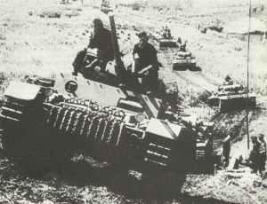 Panzereinheit mit PzKpfw III mit 5-cm-Kanone KwK 39 L/60
