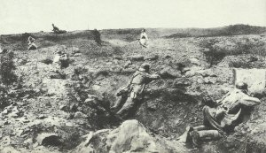 Abwehr eines französischen Angriffs auf die Hindeburg-Linie