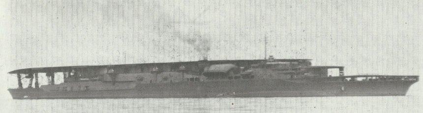 Akagi nach ihrer Indienststellung 1928