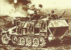 Raketenwerfer-Version des SdKfz 251