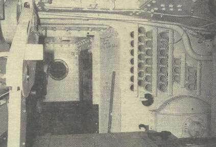Der enge Innenraum des Mk V: