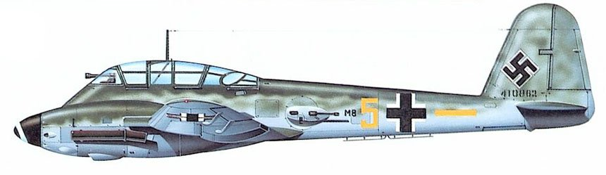 Me 410 von II./ZG76