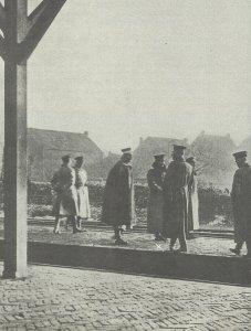 Kaiser Wilhelm II. beim Grenzübertritt