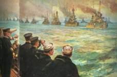 deutsche Hochsee-Flotte ergibt sich
