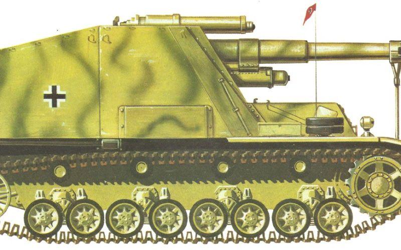 Hummel, Waffenträger