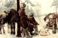 Patrouille im Ural