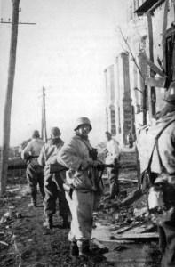 Soldaten der GD bei Rschew